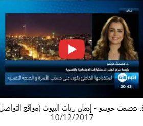 دة. عصمت حوسو - فيديو إدمان ربات البيوت