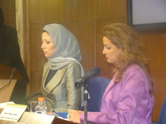 """دة. عصمت حوسو - جامعة عمّان الأهلية - استضافة مذيعة الجزيرة خديجة بن قنّة في برنامج """"نساء الهمّة"""""""