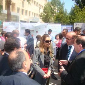 دة. عصمت حوسو - جامعة عمّان الأهلية - فعالية يوم علمي برعاية معالي الدكتور طاهر الشخشير