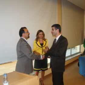 دة. عصمت حوسو - جامعة عمّان الأهلية - استضافة الدكتور جوزيف مسعد Joseph Masa'ad