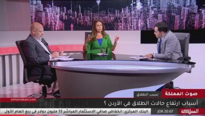 """دة. عصمت حوسو - قناة المملكة - برنامج """"صوت المملكة"""" - نسب الطلاق"""