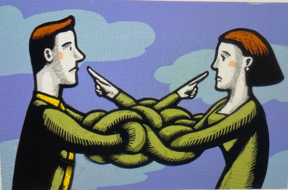 العيوب - لا تُسقِط عيوبك على غيرك